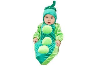 ハロウィン 衣装 コスチューム お豆さん 赤ちゃん用ハロウィンコスプレ衣装ハロウィン 衣装・コスチューム